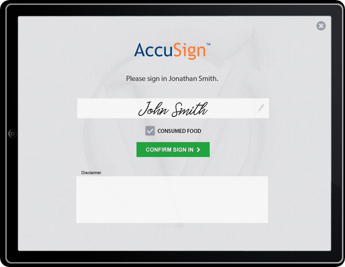 AccuSign™
